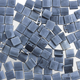 1101-7709-7.2GR - Bille de Verre Perle de Rocaille Tila 5MM Miyuki Gris Bleu Mat Opaque 2 Trous Japon TL2001 1101-7709-7.2GR,Billes,Verre,Tila,Bille,Perle de Rocaille,Verre,Verre,5mm,Carré,Tila,Gris,Gris Bleu,Mat,Opaque,montreal, quebec, canada, beads, wholesale
