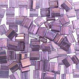 1101-7710-7.2GR - Bille de Verre Perle de Rocaille Tila 5MM Miyuki Améthyste Transparent Pâle 2 Trous Japon TL316 1101-7710-7.2GR,Billes,Verre,Tila,Bille,Perle de Rocaille,Verre,Verre,5mm,Carré,Tila,Mauve,Améthyste,Transparent,Pâle,montreal, quebec, canada, beads, wholesale