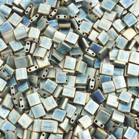 1101-7719-7.2GR - Bille de Verre Perle de Rocaille Tila 5MM Miyuki Vert Irisé Métallique Mat 2 Trous Japon TL2008 1101-7719-7.2GR,Billes,Verre,Tila,Bille,Perle de Rocaille,Verre,Verre,5mm,Carré,Tila,Beige,Vert,Irisé,Métallique,montreal, quebec, canada, beads, wholesale