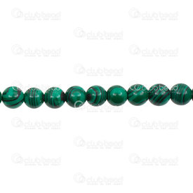 1112-0667-8MM - Bille de Pierre Fine 8mm Malachite Reconstituée Vert Corde 15 Pouces 1112-0667-8MM,Billes,Pierres,Fines,Bille,Naturel,Pierre Fine,8MM,Rond,Vert,Chine,15'' String,Malachite,montreal, quebec, canada, beads, wholesale